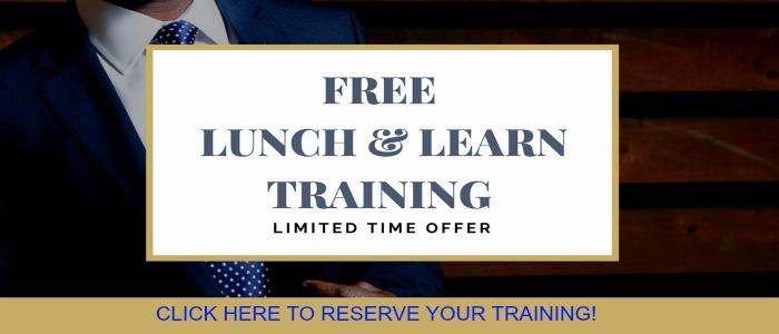 LUNCH AND LEARN TRAINING WITH LORINDA BUCKINGHAM